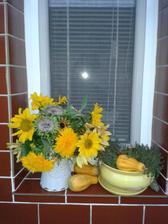 slnečnice nemôžu chýbať