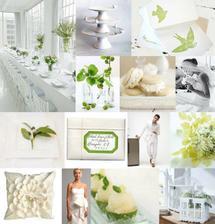 nádherná svadba v zelenom