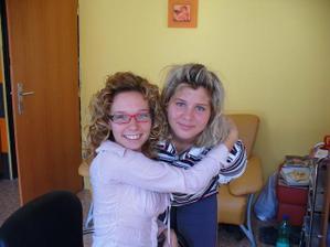 kadernička Natalka a ja