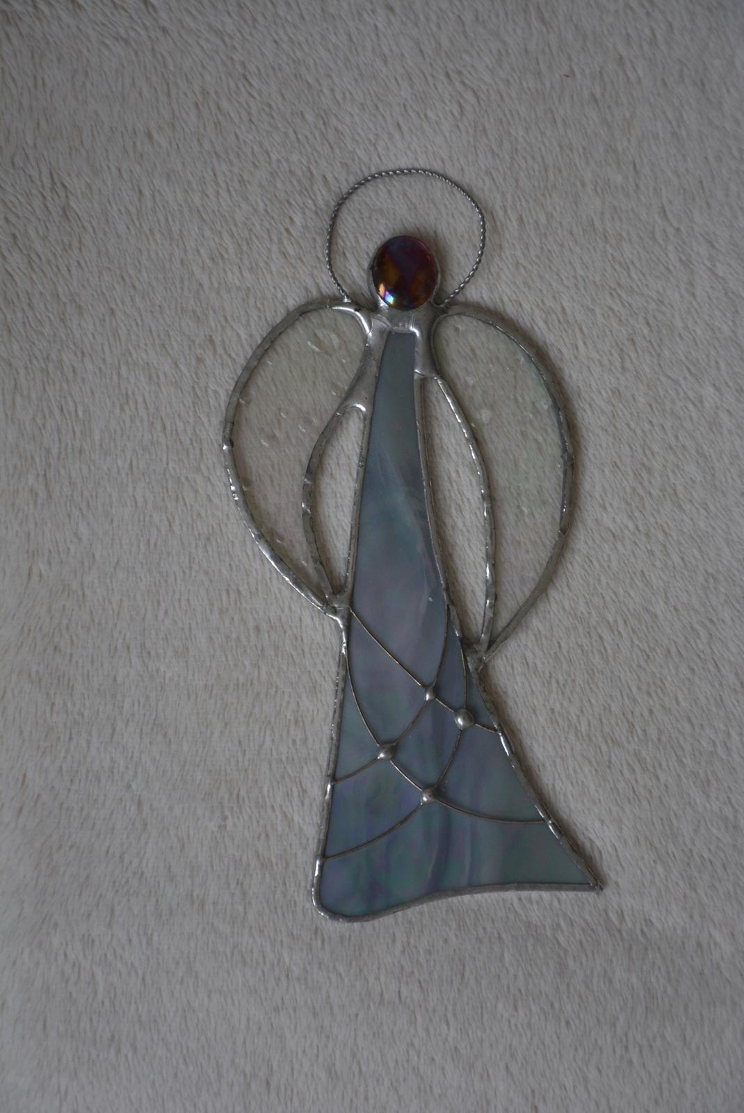 Anděl - Tiffany technika - Obrázek č. 1