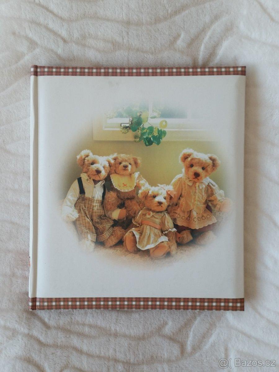 Album na fotografie samolepicí s motivem medvídků - Obrázek č. 1