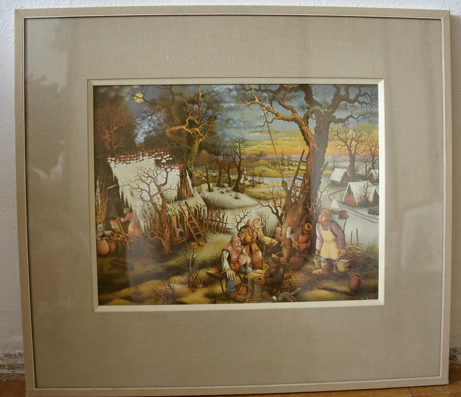 Reprodukce obrazů Mijo Kovačice - Obrázek č. 2
