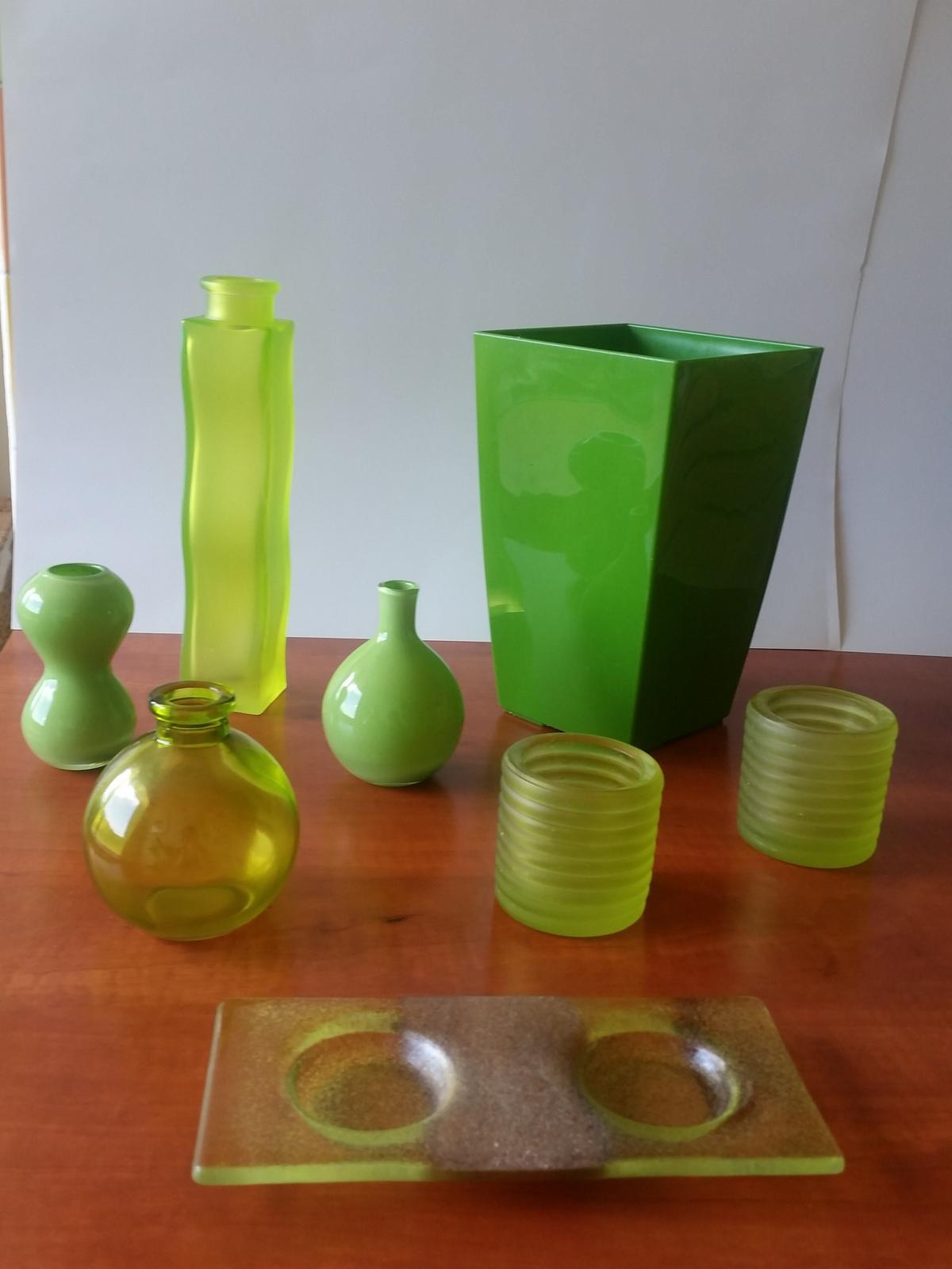bytové doplňky v zelené barvě - Obrázek č. 1