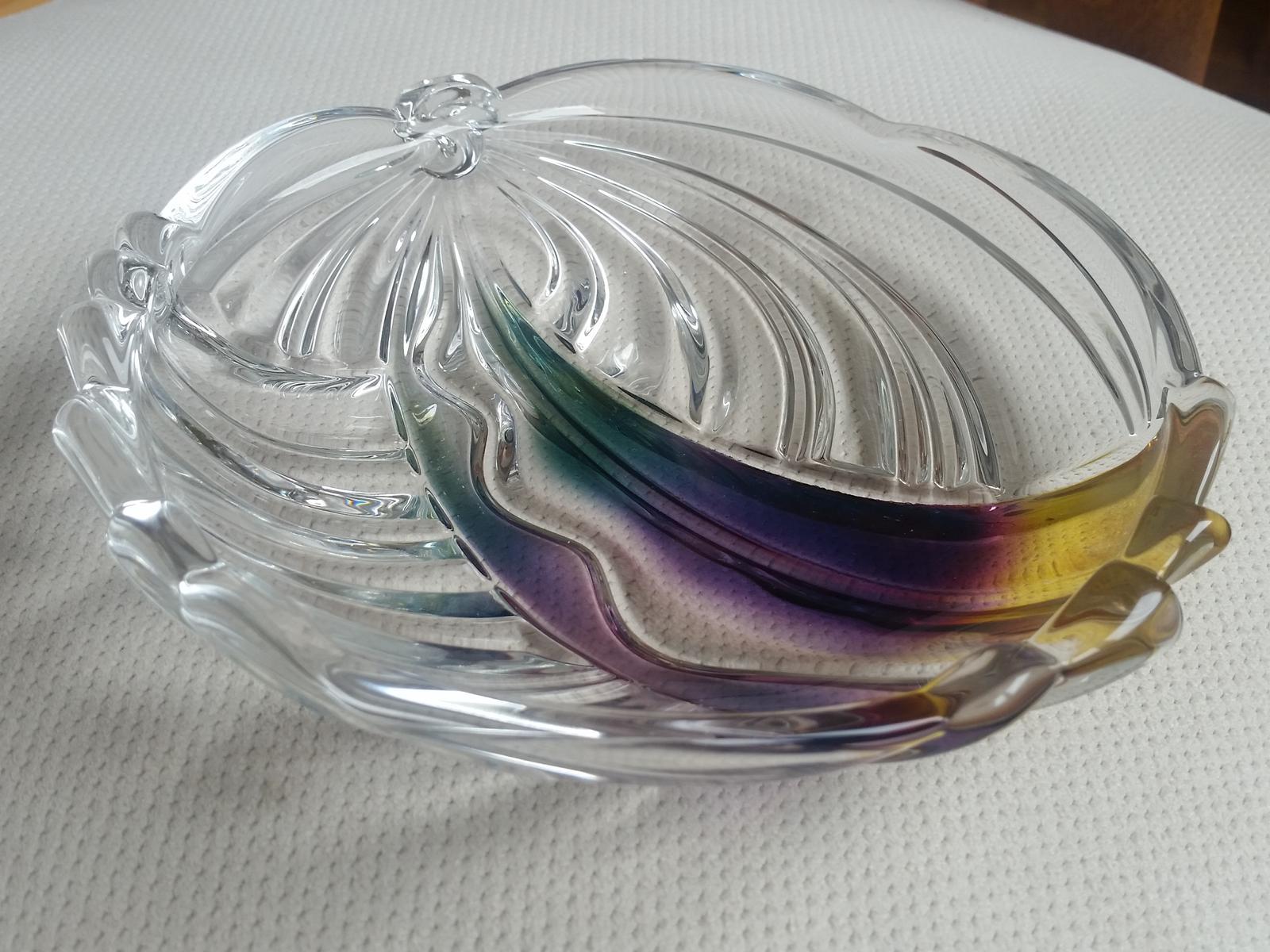 skleněný talířek s andělem - Obrázek č. 1