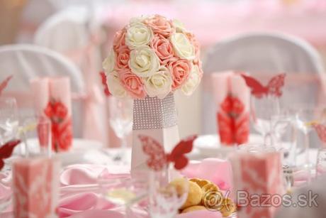 Svadobné vázy + kytice - Obrázok č. 1