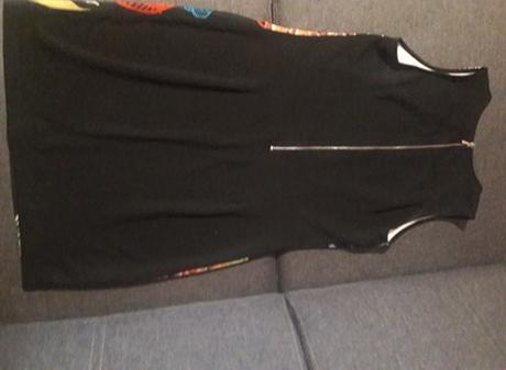 Spoločenské šaty krátke, veľkosť L kvetinové - Obrázok č. 2