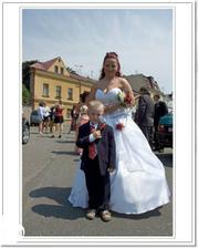 S Pepíčkem - synovec od manžela