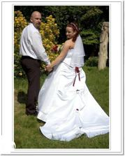 Děkujeme všem - novomanželé Sýkorovi