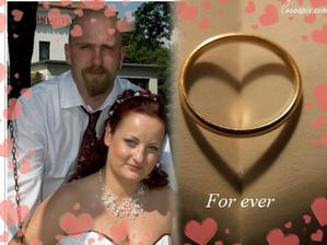 My dva v náš svatební den 16. 6. 2006
