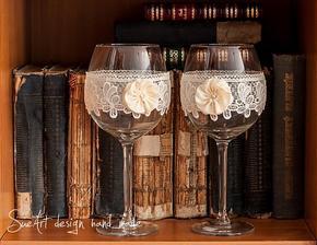 Inšpirácia na svadobné poháre:)