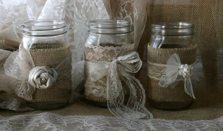 Naša romantic-rustic svadba ♥ - Tip na svietničky...