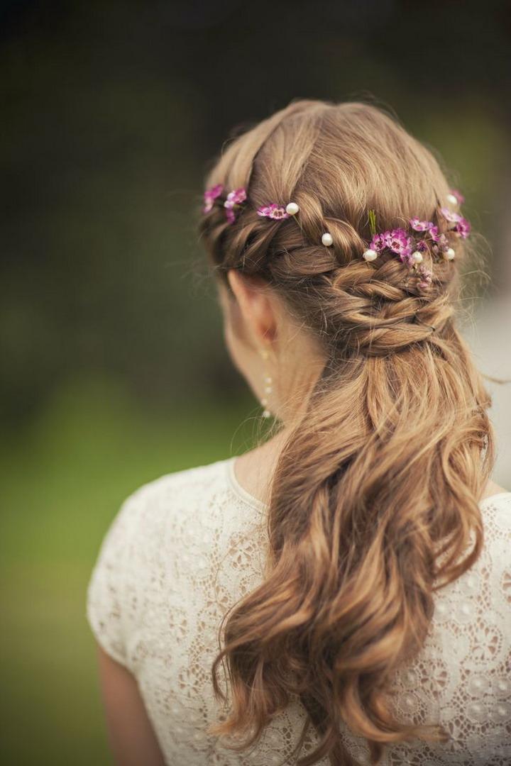 Kvety vo vlasoch 🌸 - Obrázok č. 50