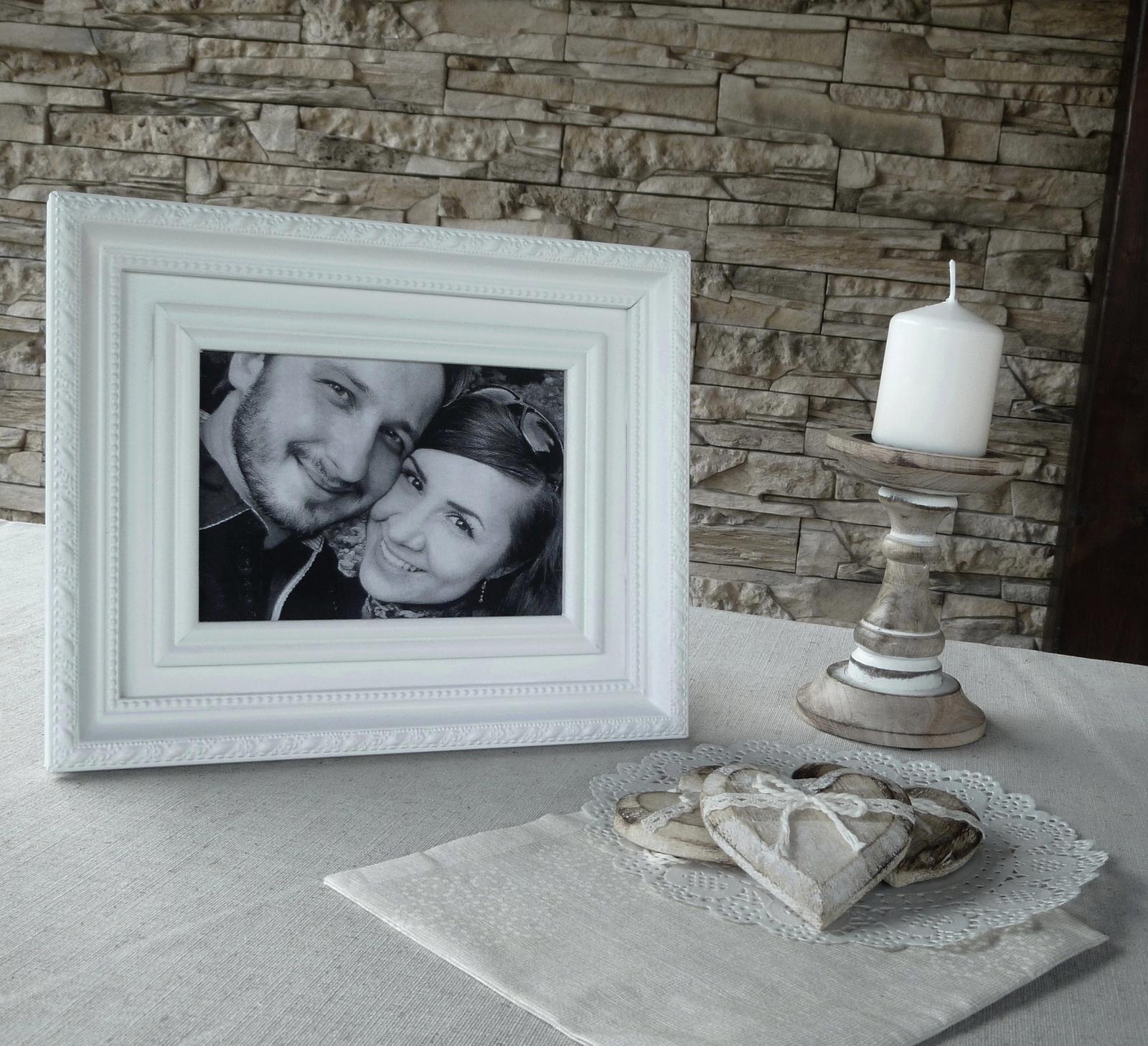 Naša romantic-rustic svadba ♥ - č. 2 :)