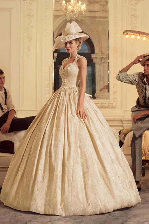 Najromantickejšie šaty všetkých čias 👰 - Obrázok č. 2