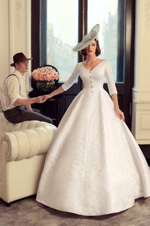 Najromantickejšie šaty všetkých čias 👰 - Obrázok č. 9