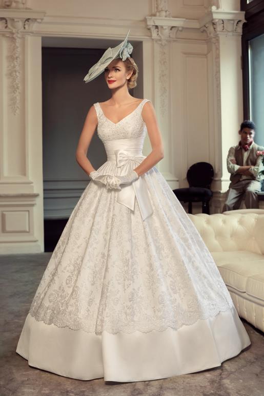 Najromantickejšie šaty všetkých čias 👰 - Obrázok č. 10