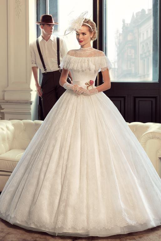 Najromantickejšie šaty všetkých čias 👰 - Obrázok č. 12