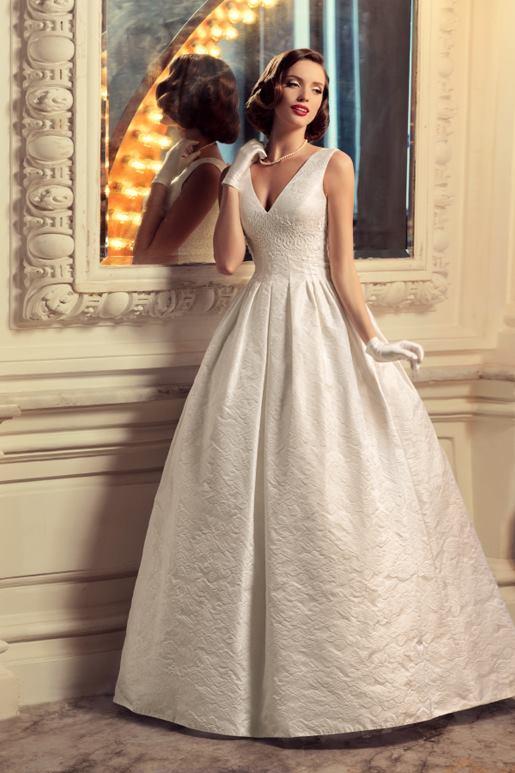 Najromantickejšie šaty všetkých čias 👰 - Obrázok č. 47