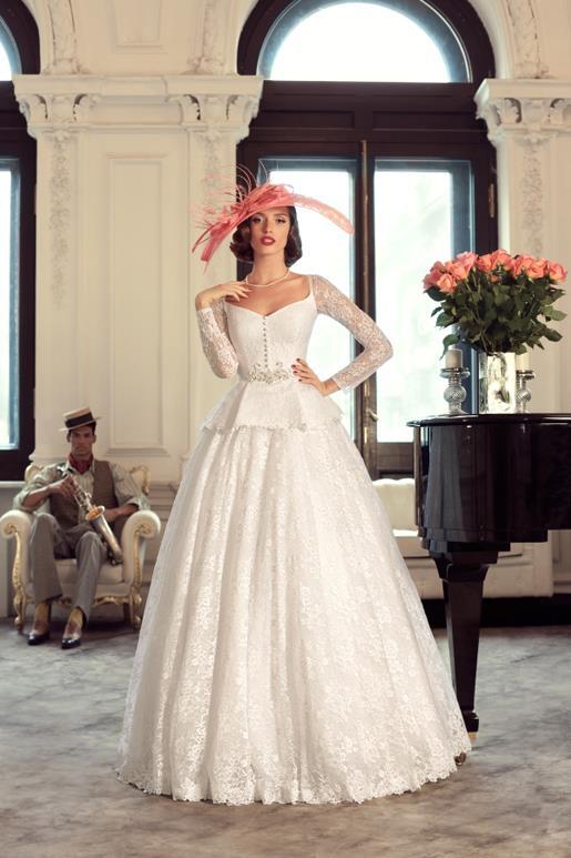 Najromantickejšie šaty všetkých čias 👰 - Obrázok č. 56