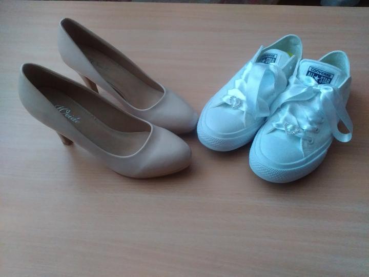♥ 👠 Svadobné topánky nevestičiek z MS 👠 ♥ - @martina0312 :-)