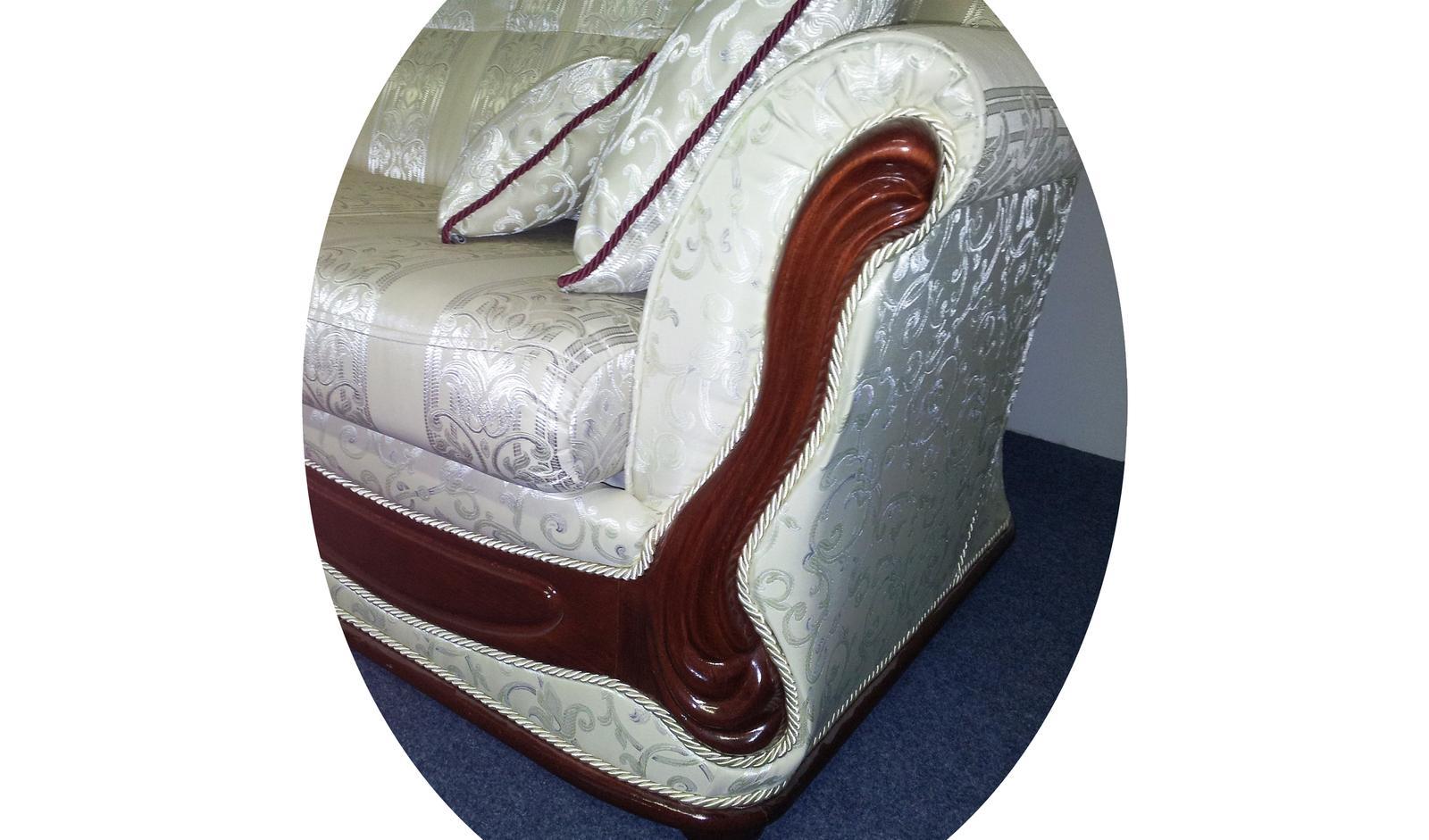 Exkluzívna rustikálna sedacia súprava - Obrázok č. 2
