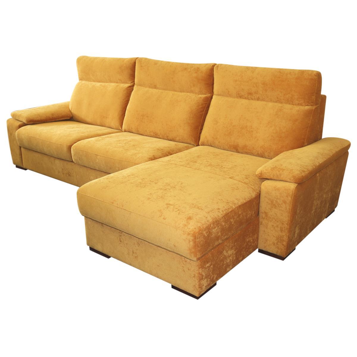 Zlatá rohová sedačka TESLA - Obrázok č. 1
