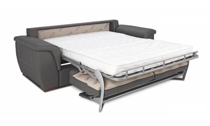 Pohodlná sedačka s posteľou 3+2+taburetka - Obrázok č. 1