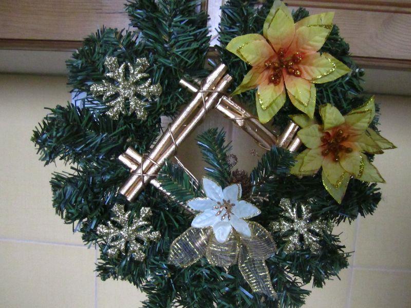 vianočný veniec 35cm - Obrázok č. 1