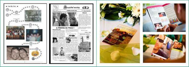 Svatební noviny, v našem případě magazín :-)