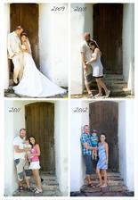 Tak jde čas ... 3 roky po svatbě, Mireček 2 roky, já 12.tt :-)