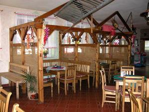 Mlýsnká krčma - původně měla být hostina v salonku, nakonec bude přímo v restauraci.