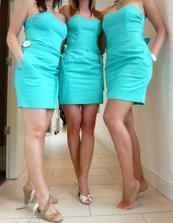 Svědkyně a družičky vybíraly šaty :-)
