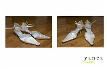 Moje svatební botičky...