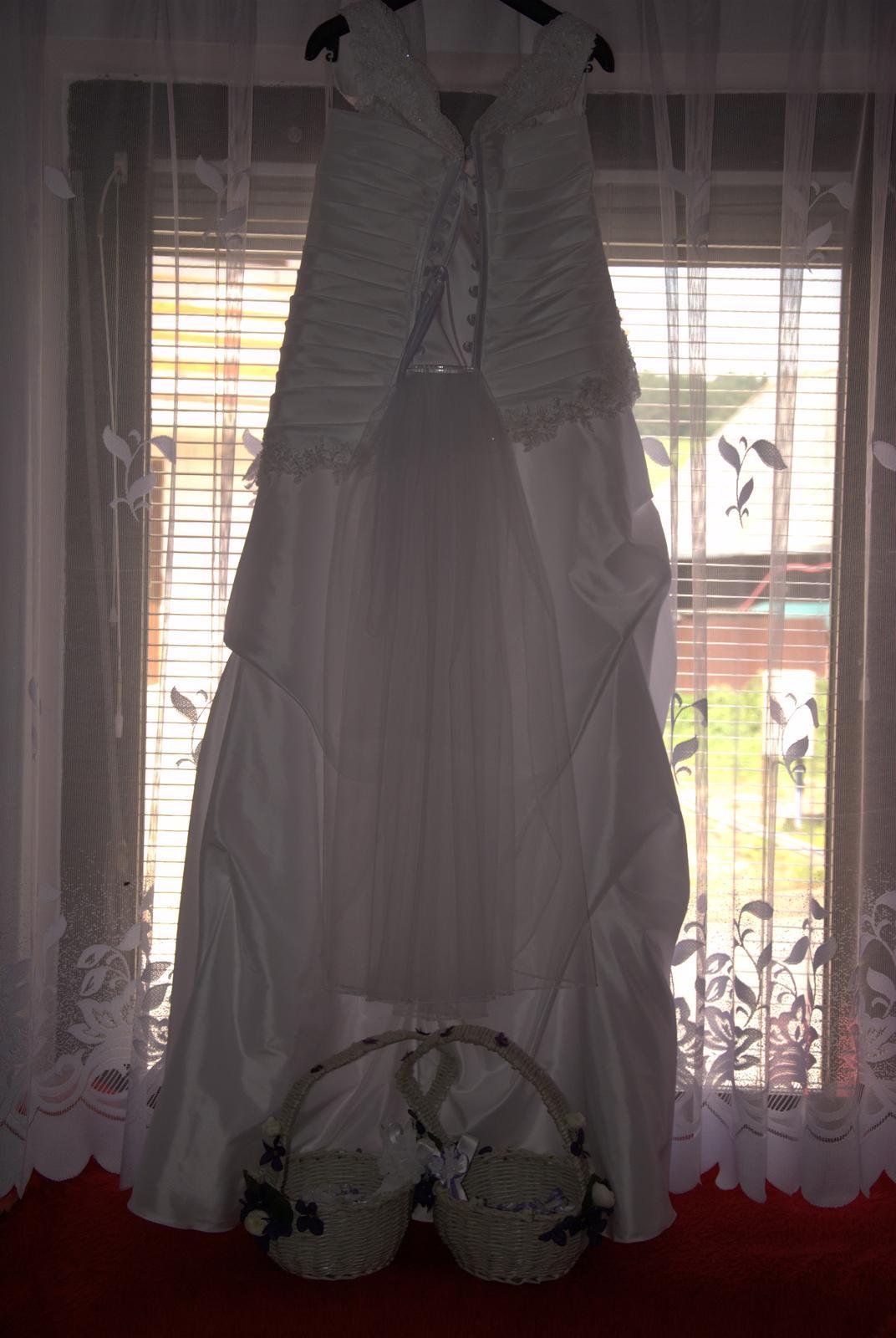 Svadobné šaty pre plnšie nevesty - Obrázok č. 1
