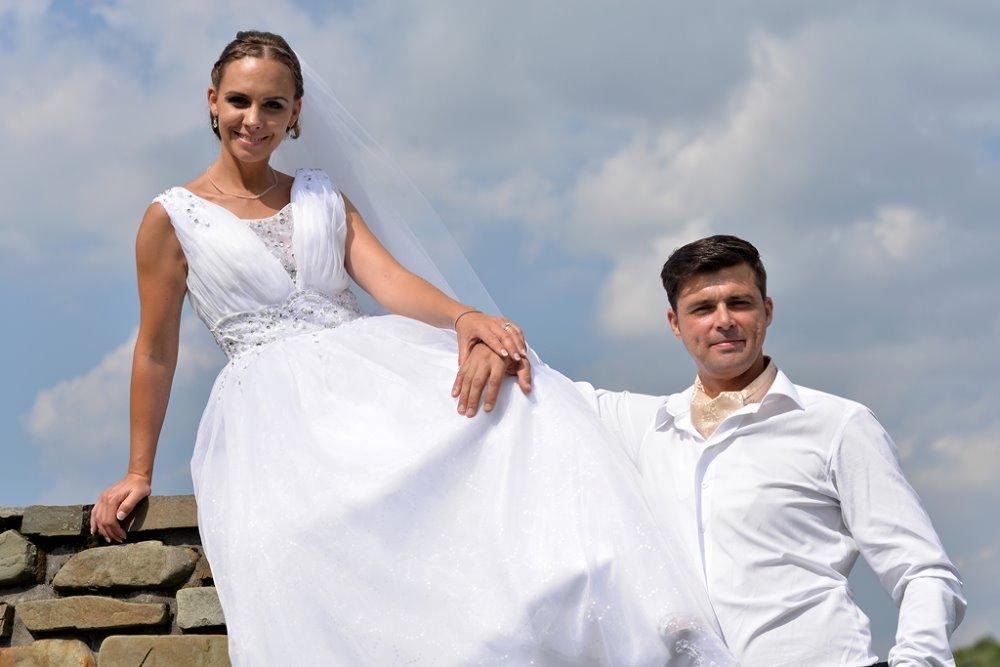 svatební princeznovské šaty 38-42 - Obrázek č. 4