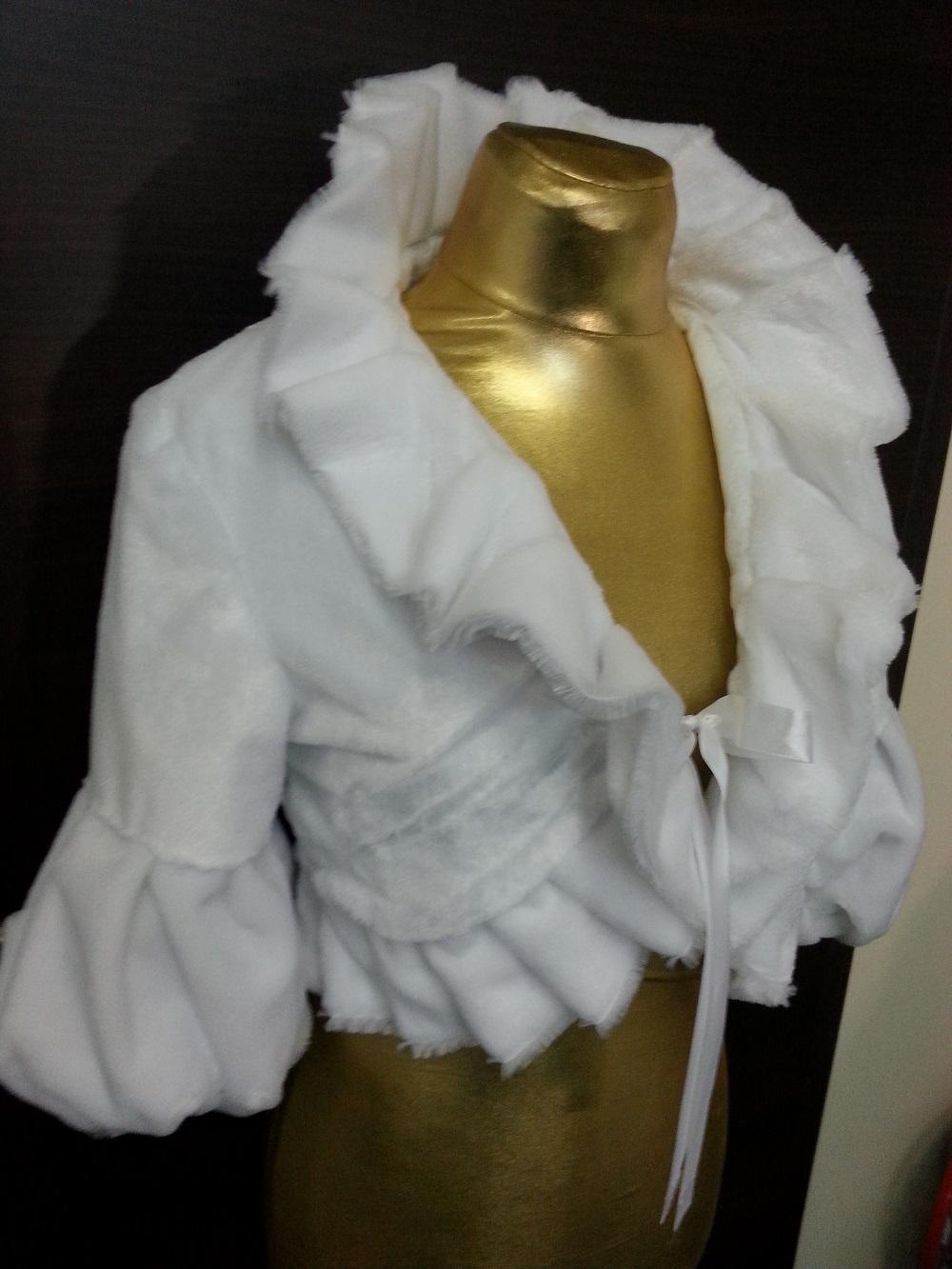 Kabátik na svadbu. Šijeme na mieru  - Obrázek č. 3