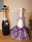 svadobné fľaše,