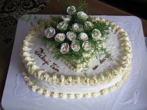 děkovná dorta pro nevěstiny rodiče