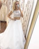 Svatební šaty Evelyne Design, 34