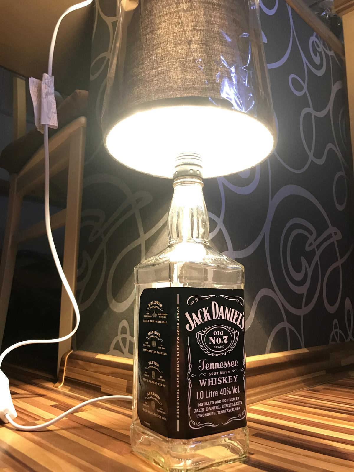 Lampa Jack Daniels  - Obrázok č. 1