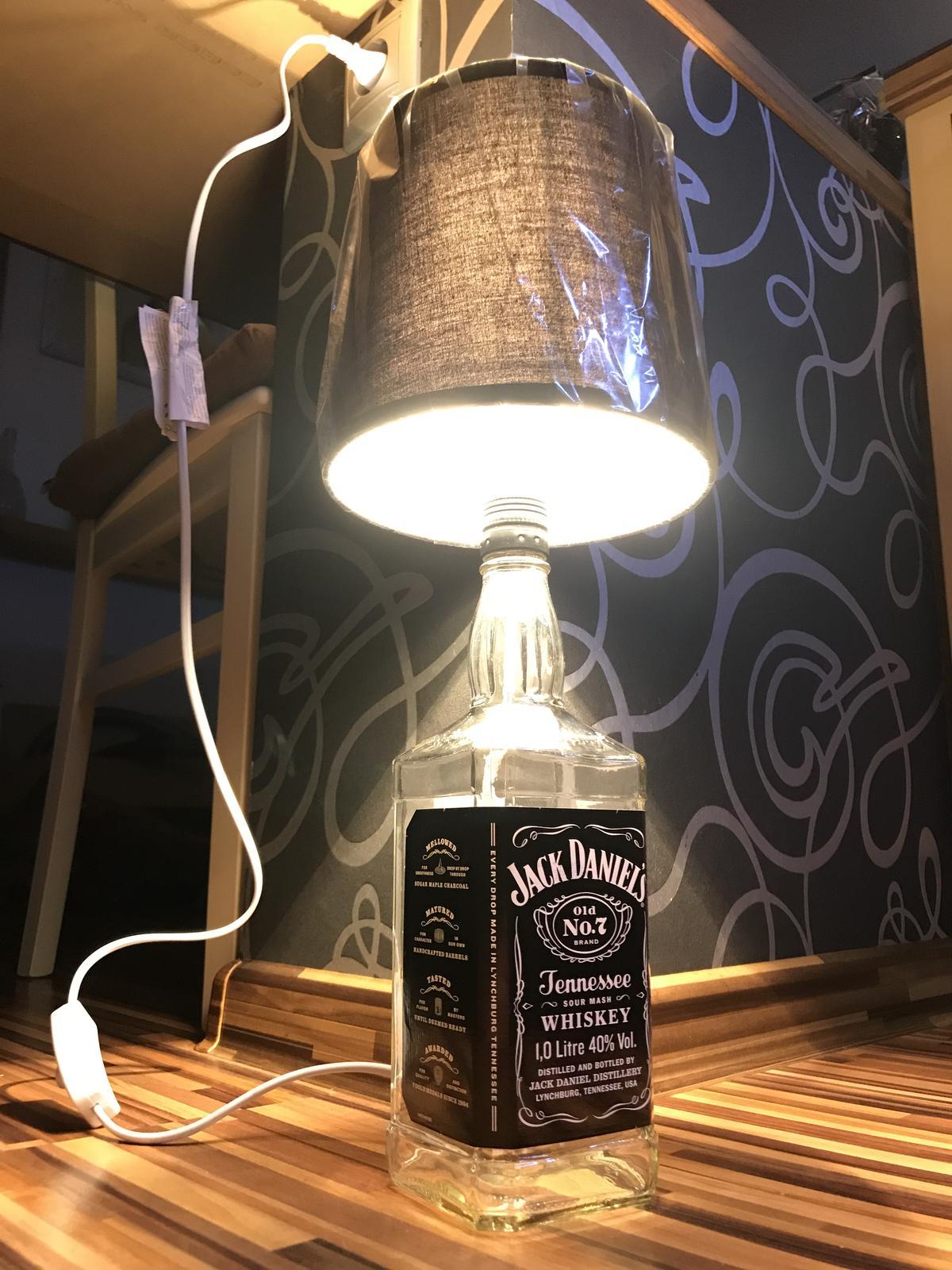 Lampa Jack Daniels  - Obrázok č. 2