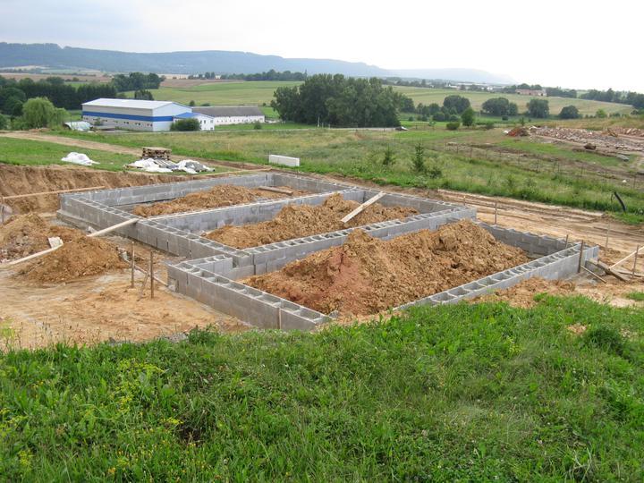 Projekt, základy, základová deska - 28.7.2010