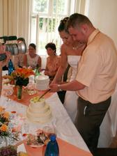 Krájení dorty