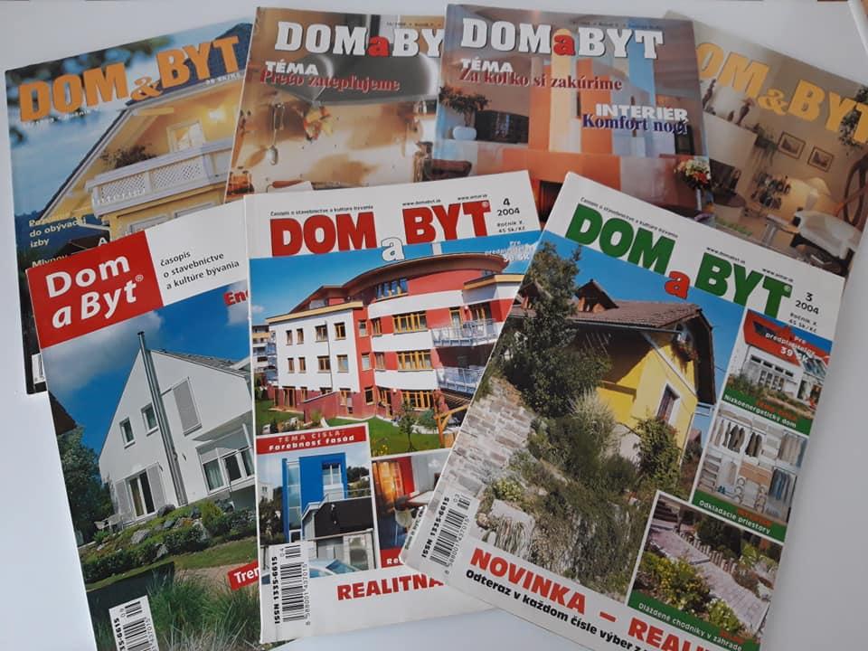 Časopis o bývaní, inšpirácia pre byt, dom, záhradu - Obrázok č. 1