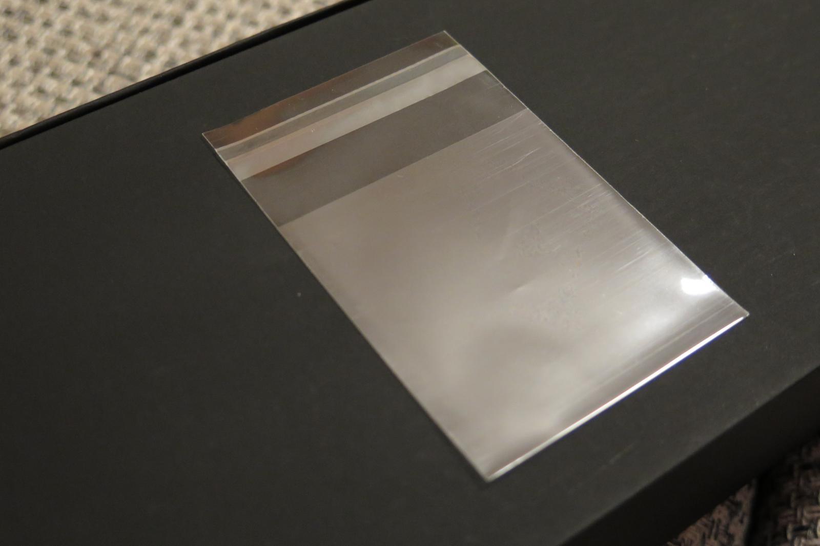38 ks transparentní sáčky - Obrázek č. 1