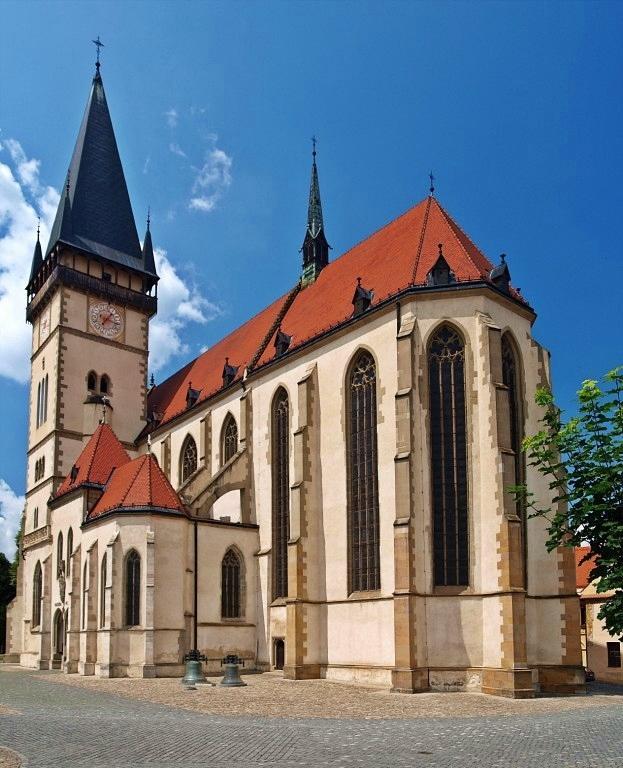 Pomaličky sa blížime k cieľu nášho začiatku :) - Svoju lásku spečatíme v bazilike Minor sv. Egídia v Bardejove :)
