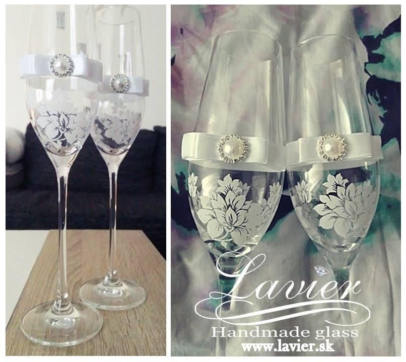 Pomaličky sa blížime k cieľu nášho začiatku :) - Z takýchto krásnych pohárov budeme piť :) Len trošíčku iné pieskovanie :)