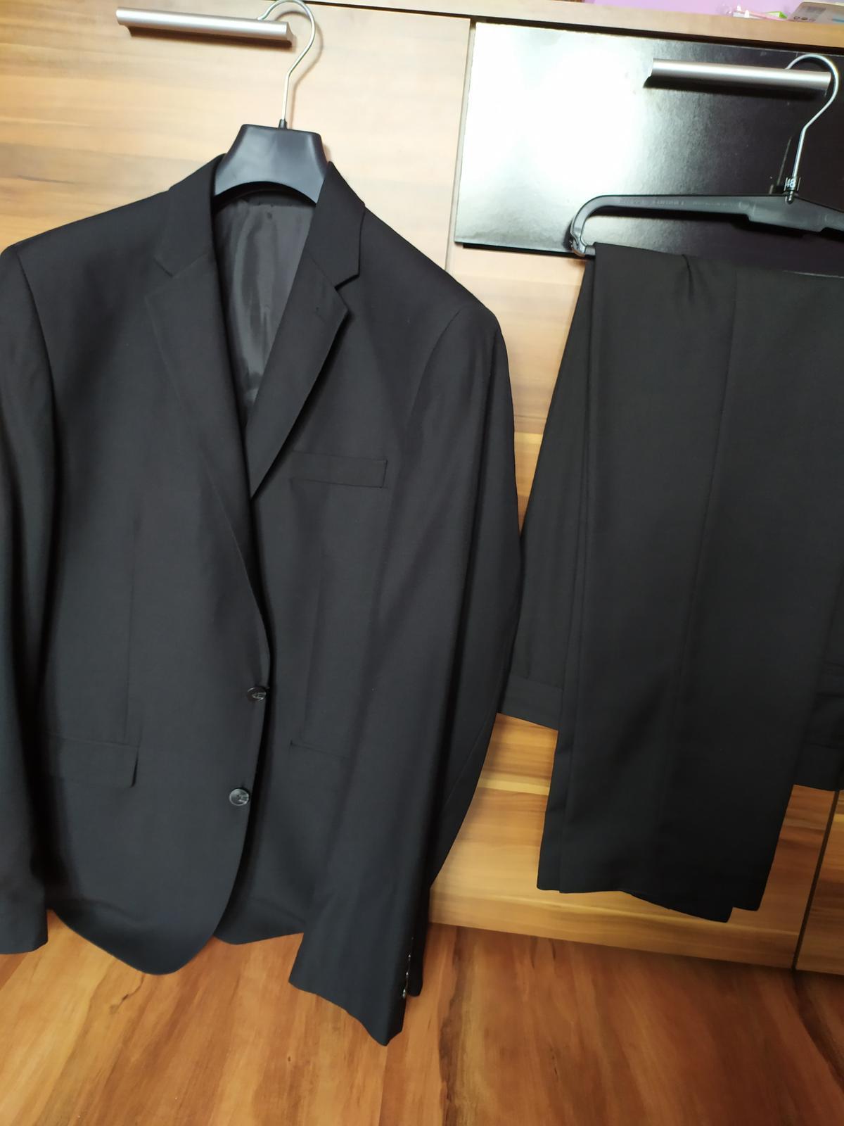 Pánský oblek Angelo Litrico, vel.50/52 - Obrázek č. 1