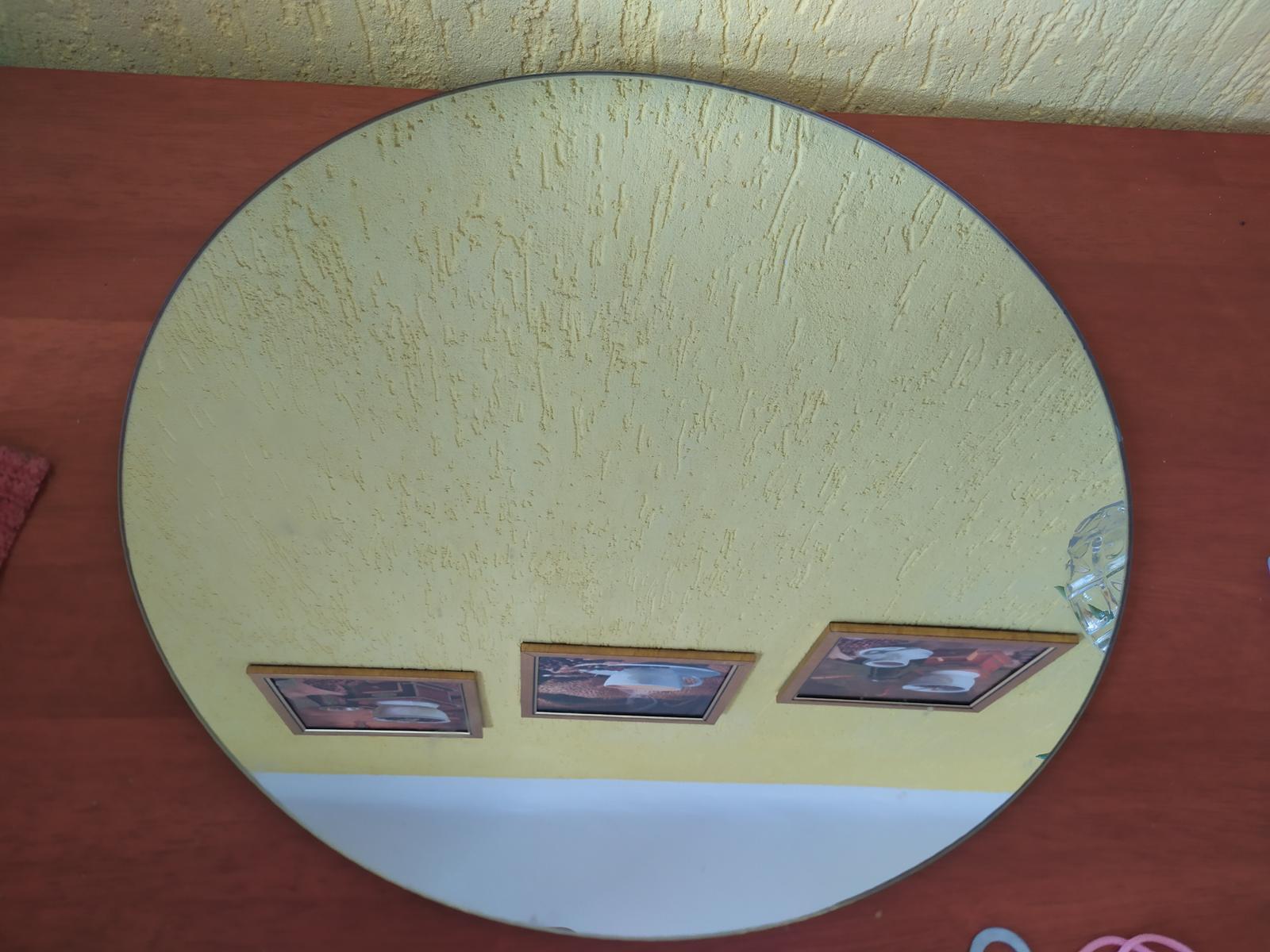 Kulatý zrcadlový tác/ podnos - Obrázek č. 1
