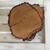 Dřevěné podtácy - 7ks,